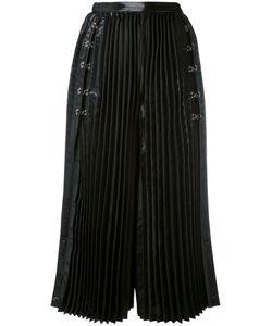 Comme Des Garçons Noir Kei Ninomiya | Pleated Wide Leg Culottes
