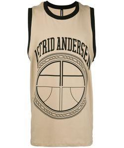 Astrid Andersen | Logo Print Sleeveless T-Shirt