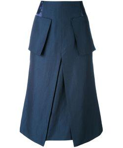 Aalto | Patch Pockets A-Line Skirt