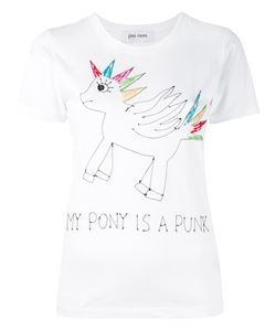 Jimi Roos | Embroidered Unicorn T-Shirt
