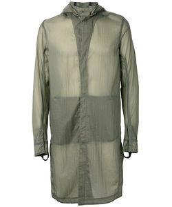 11 By Boris Bidjan Saberi | Sheer Hooded Coat