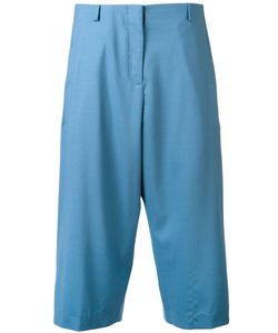 Aalto   Pleated Cropped Trousers Size