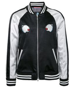 Guild Prime | Bear Patches Bomber Jacket Size 3