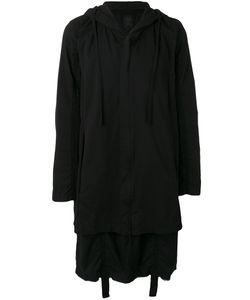 Thom Krom | Hooded Long Length Coat Size Medium