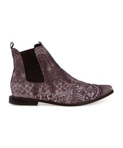 Fernanda Yamamoto | Lace Printed Ankle Boots