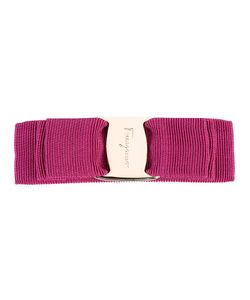 Salvatore Ferragamo | Hair Clip-On Cotton/Plastic/Rayon/Brass
