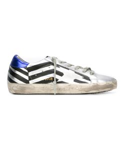 Golden Goose Deluxe Brand | Super Star Stripe Leather Sneakers
