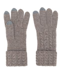 N.Peal | Cable Knit Gloves