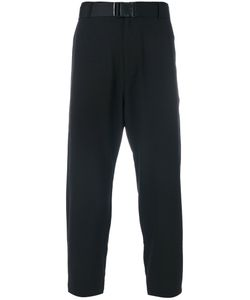 D.Gnak | Strap Belted Cropped Trousers