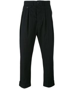 Wooster + Lardini   Pleated Trousers