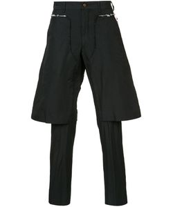 Comme Des Garçons Homme Plus | Layered Tailored Cropped Trousers