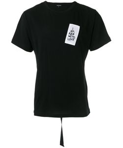 Ann Demeulemeester | Embroidered Patch T-Shirt Size Medium
