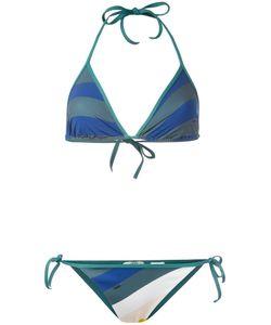 Fendi | Wave Print Bikini Set 44 Polyamide/Spandex/Elastane