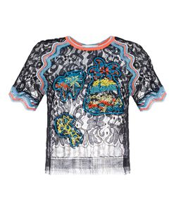 Peter Pilotto | Embroidered Lace Top