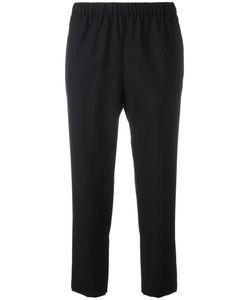 Comme Des Garçons Comme Des Garçons | Pinstriped Cropped Trousers