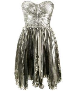 Maria Lucia Hohan   Loli Pleated Bandeau Dress 38