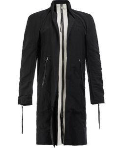 Cedric Jacquemyn | Zip Up Contrast Coat