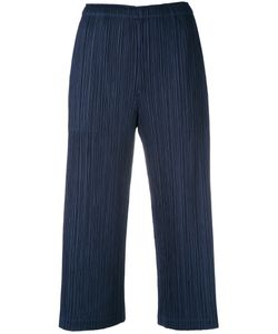 Pleats Please By Issey Miyake | Plissé Cropped Trousers