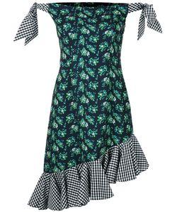 House Of Holland | Off-The-Shoulder Crepe Dress
