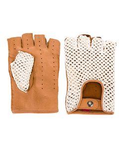Al Duca D'Aosta | 1902 Woven Panel Fingerless Gloves 9