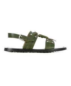 Pollini | Buckled Sandals Size 41