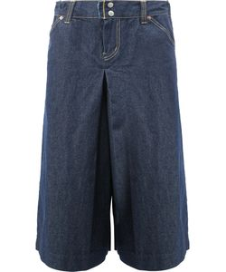 Ganryu Comme Des Garcons | Wide-Legged Cropped Jeans Large