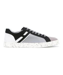 Hogan Rebel | Contrast Panel Sneakers