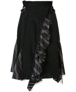 Sacai | Asymmetric Pleated Skirt Size 2
