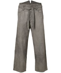 Horisaki Design & Handel | Tie-Waist Cropped Trousers