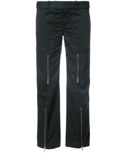 Nili Lotan | Zip Detail Straight Trousers Women
