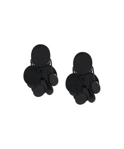 Monies | Disc Tassel Clip On Earrings