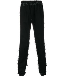 Andrea Crews | Frayed Trousers Men L