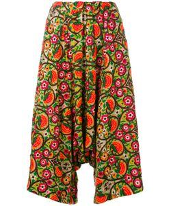 Comme Des Garçons Comme Des Garçons | Wide Leg Cropped Trousers
