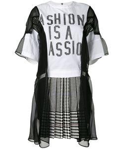 Sacai | Fashion Is A Passion Combination Dress Size 1