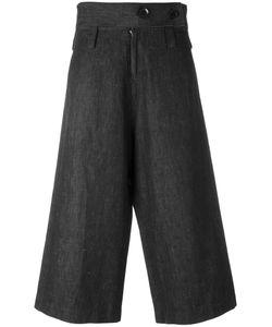 Yohji Yamamoto Vintage | High Waist Cropped Trousers Size