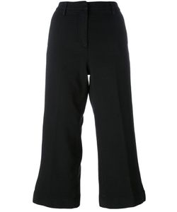 Barba | Flared Cropped Trousers 46