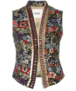Bazar Deluxe | Embroidery Gilet Size 44