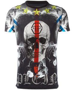 Philipp Plein | Skull Print T-Shirt Size Large