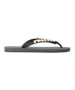 Giuseppe Zanotti Design | Studded Flip-Flops 43 Rubber/Metal Other