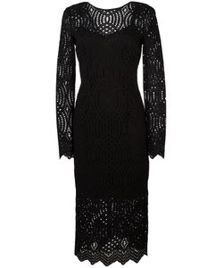 Marco Bologna | Lace V-Back Dress Size 46