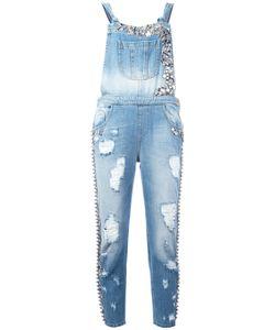 Amen | Embellished Denim Jumpsuit Size 40