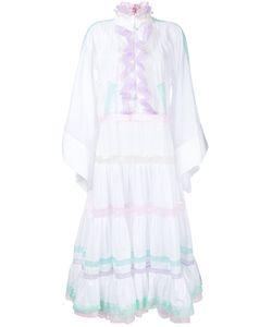Natasha Zinko | Flared Sleeves Ruffled Dress