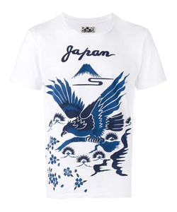 Blue Blue Japan | Bird Print T-Shirt