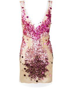 Amen | Sequin Embroidery Bodycon Dress Size 42