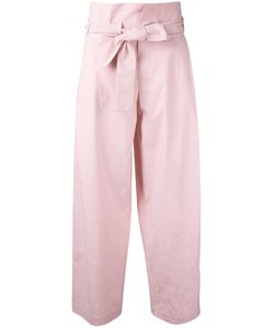 Erika Cavallini | Tied High Waisted Trousers Size 44