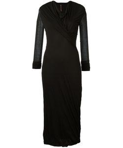 Rick Owens Lilies | Draped Midi Dress Size 42