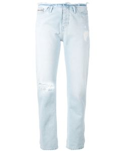 Calvin Klein Jeans | Ripped Detail Straight Jeans