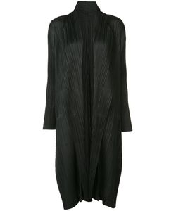 Pleats Please By Issey Miyake | High Neck Coat Women