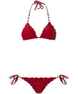 Amir Slama   Triangle Bikini Set Gg Elastodiene