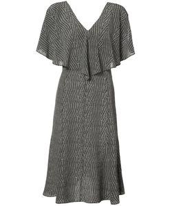 Derek Lam | Ruffled V-Neck Dress